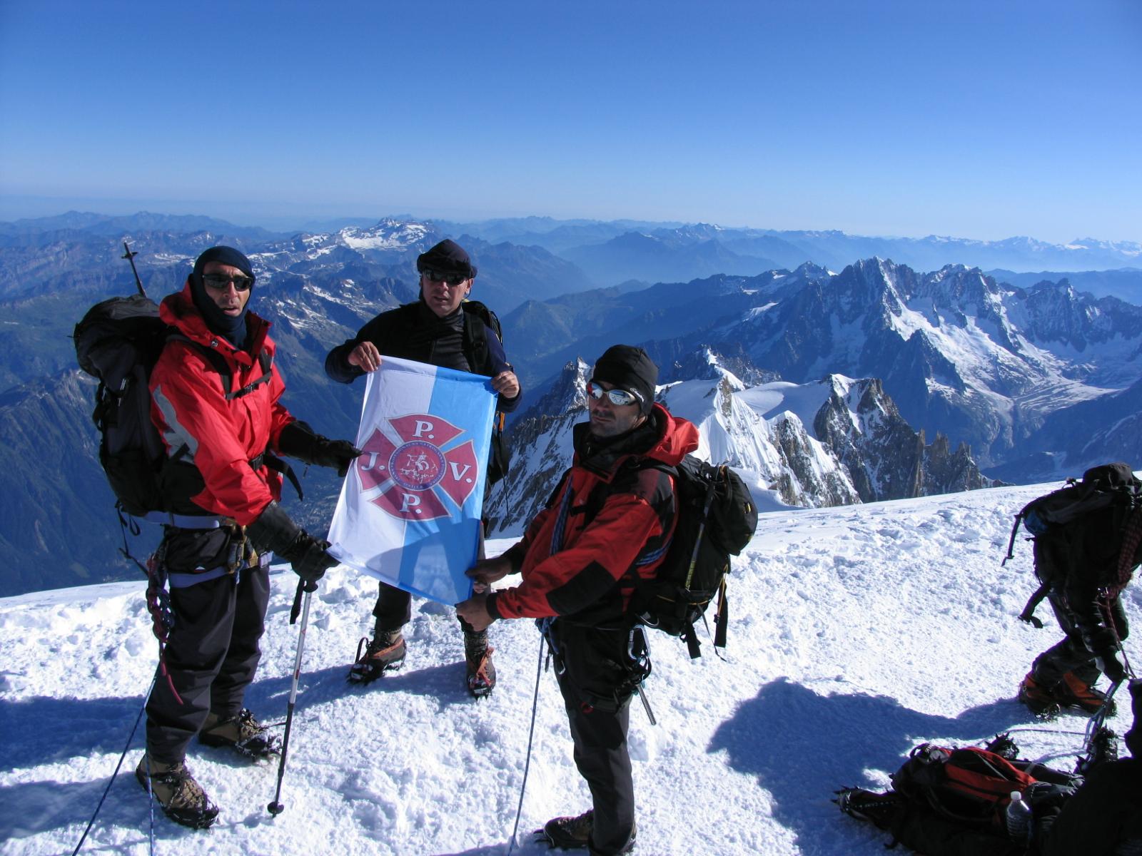 Na Vrhu Europe- Mont Blanc 4810 Mnv