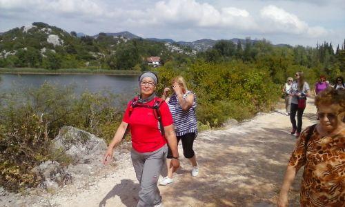 šetnja uz Baćinska jezera
