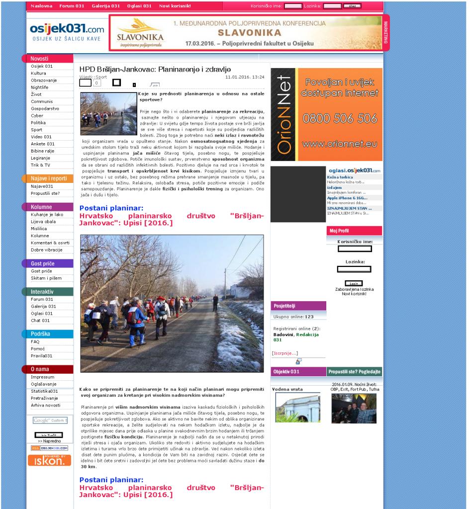 HPD Bršljan-Jankovac_ Planinarenje i zdravlje_Page